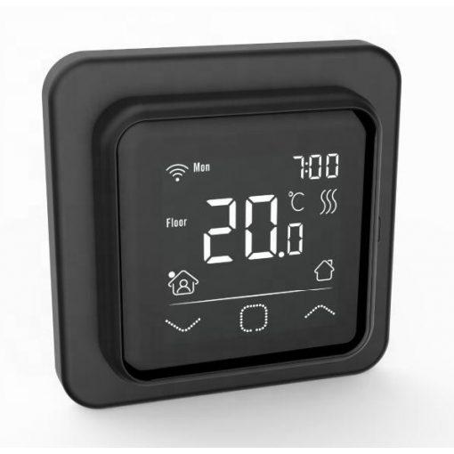 A6 wifi termosztát fekete