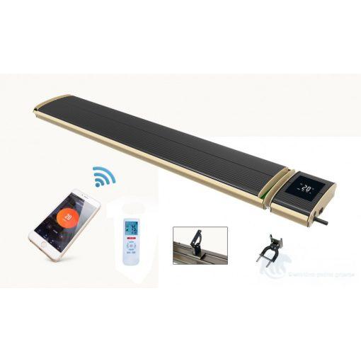 Infra  wifi tamni grijač (crni) JH-NR10-13W 1000W